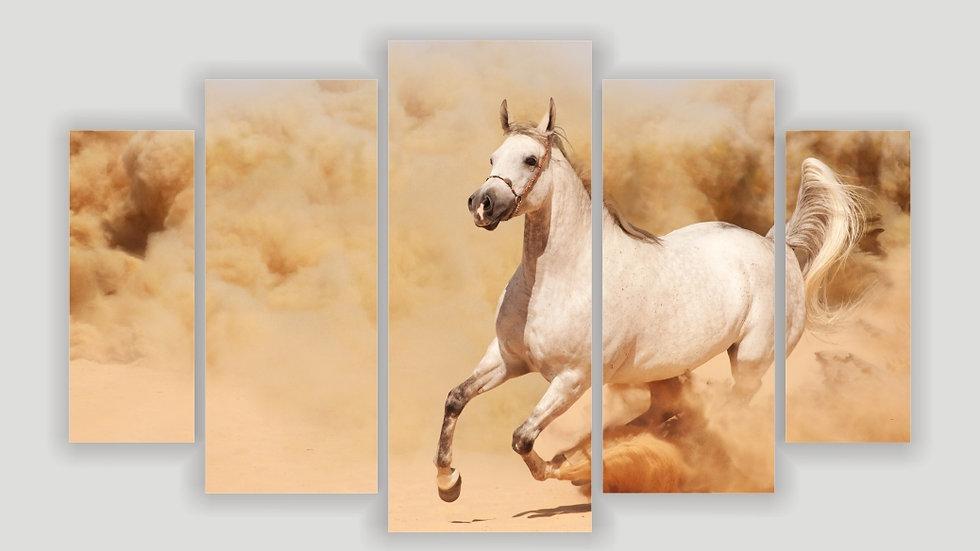 Модульная картина «Ветер пустыни»