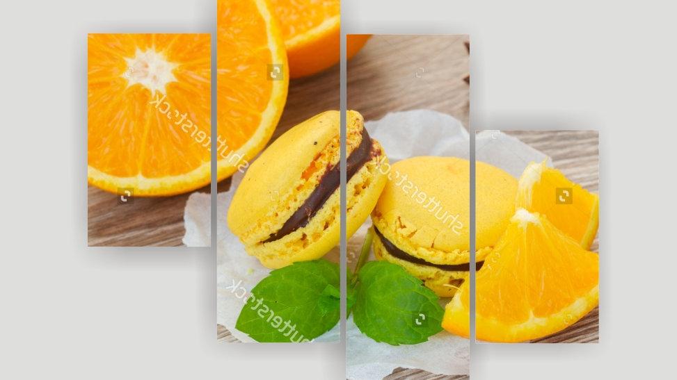 Модульная картина «Апельсиновый рай»