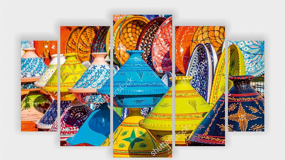 Модульная картина «Марокко»