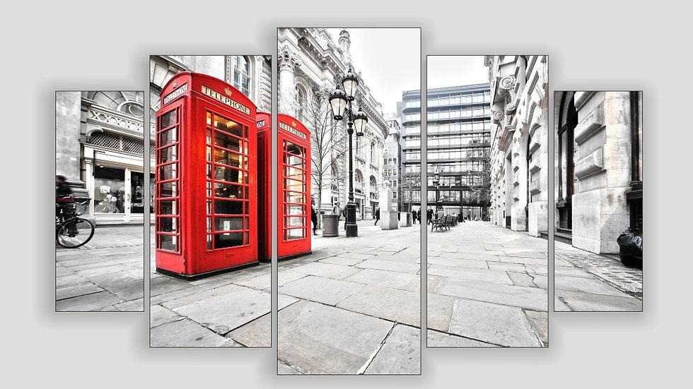 Модульная картина «Лондон»