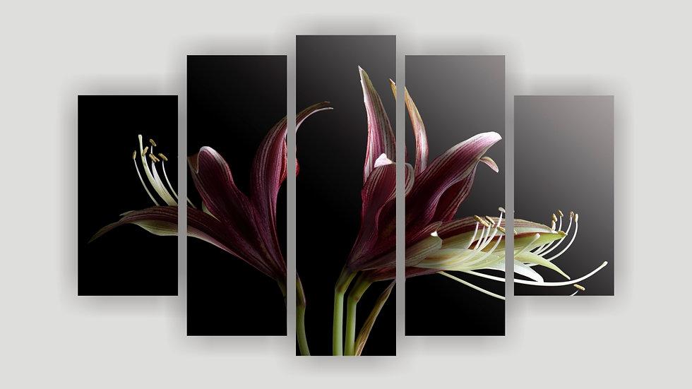 Модульная картина «Лилии»