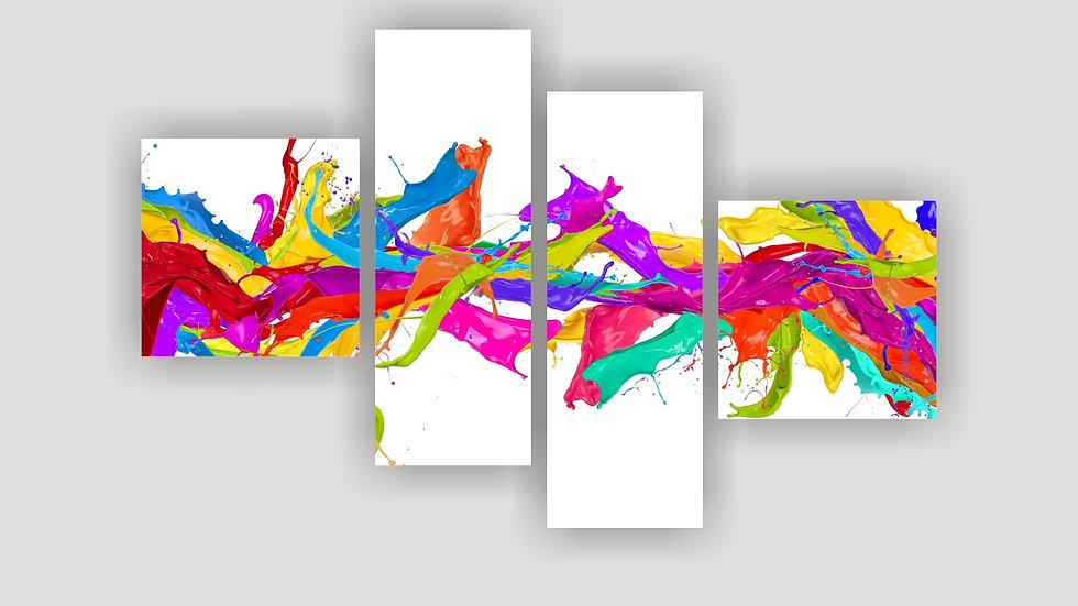 Модульная картина «Палитра»