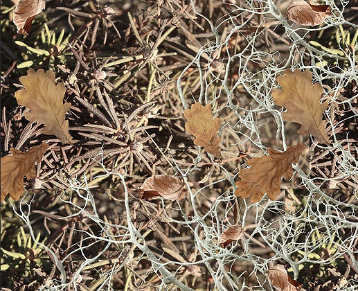 Камуфляжный набор для оружия цвет Тундра с листьями