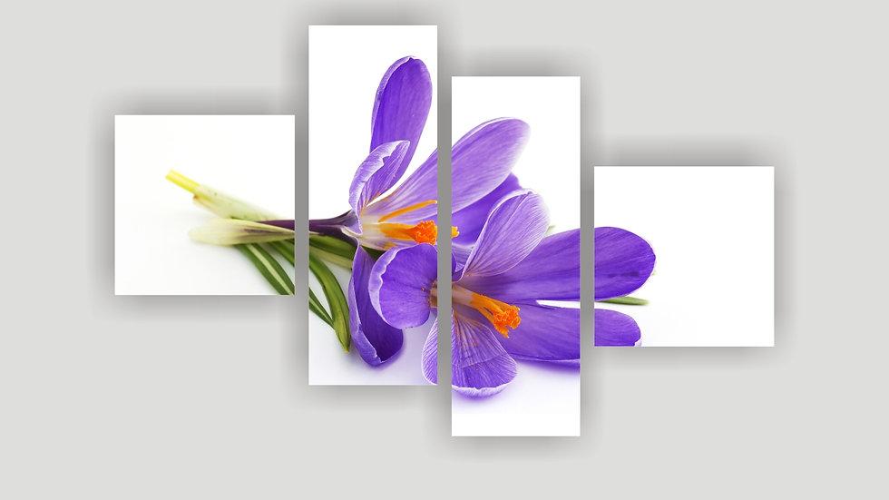 Модульная картина «Violet»
