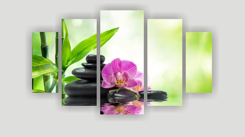 Модульная картина «Орхидея»
