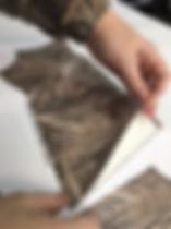 оружейный камуфляж нарезан по детлям