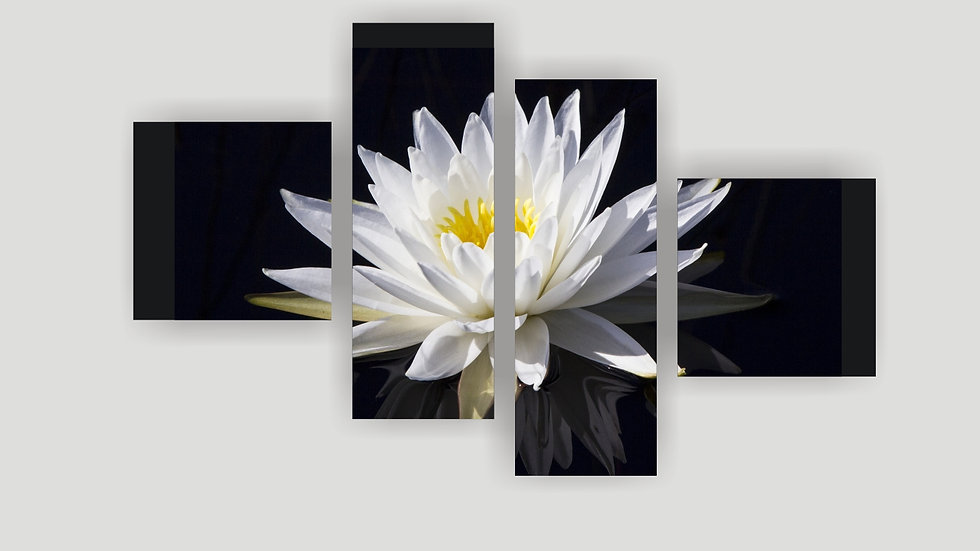 Модульная картина «Лилия»