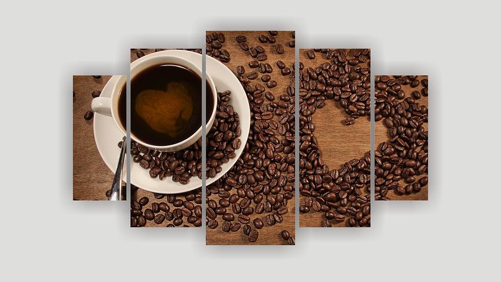 Модульная картина «Доброе утро»