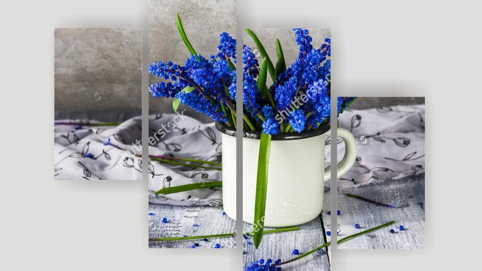 Модульная картина «Весна»