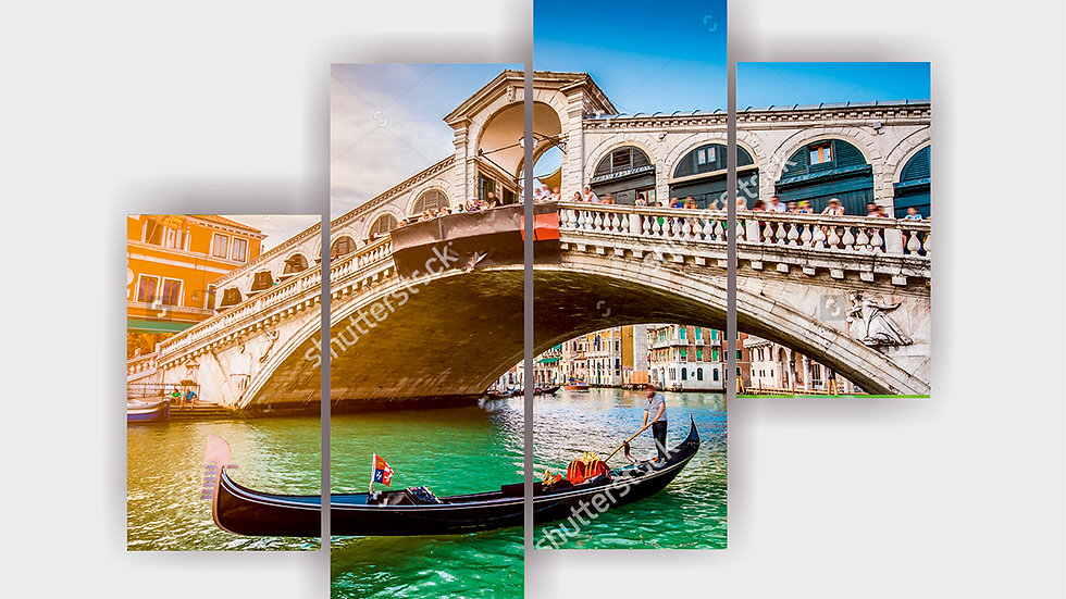 Модульная картина  «Венеция»