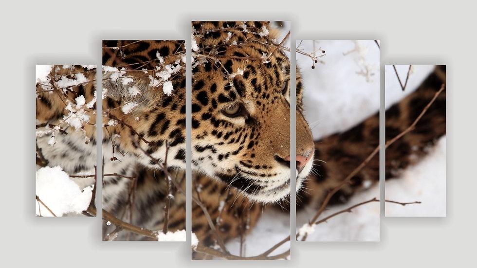 Модульная картина «Снежность»