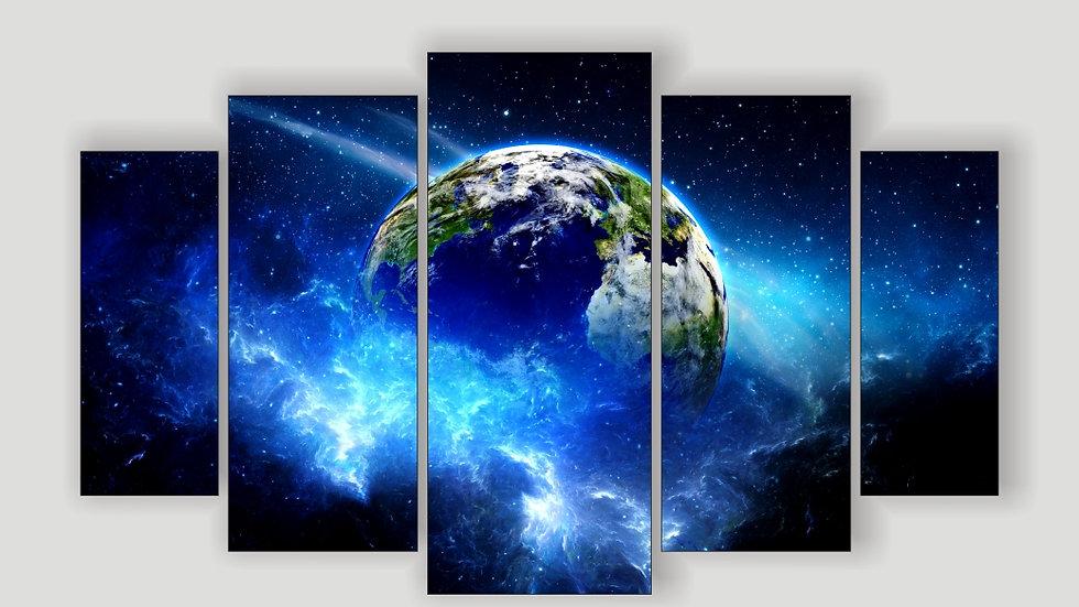 Модульная картина «Планета»