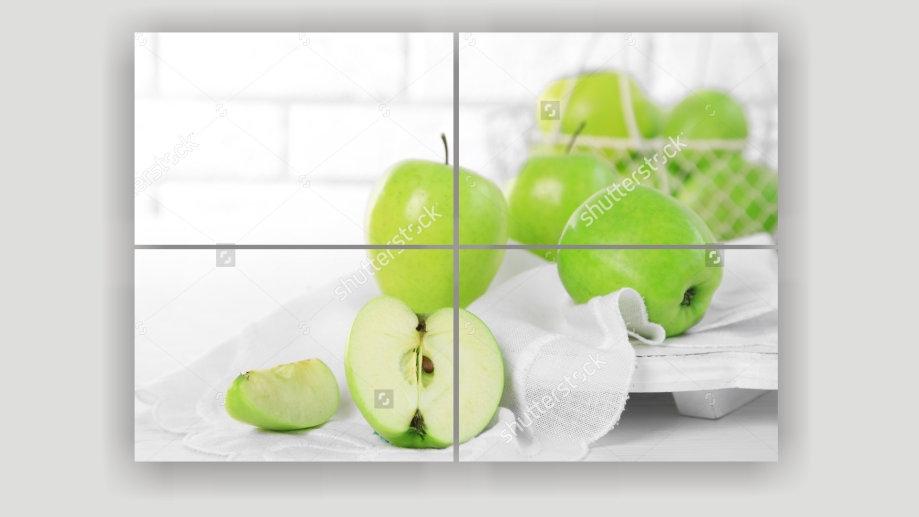 Модульная картина «Свежий урожай»