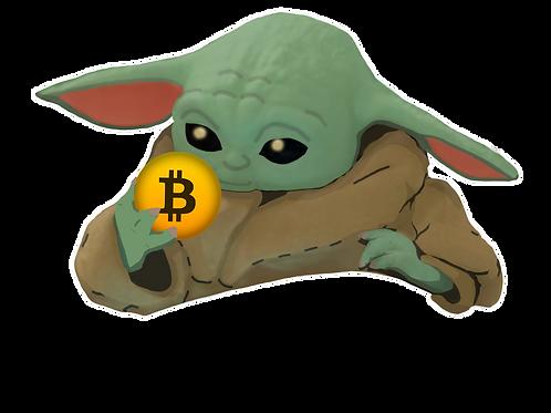 Bitcoin Baby Yoda!