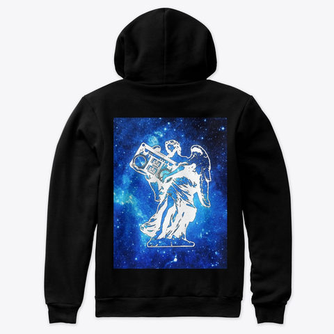 Angel in space premium sweater (Back)