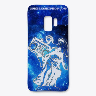 Angel in space phone cover (Galaxy/Iphone)