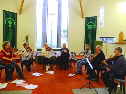 ANZVS Viola Day on Waiheke Island, Auckland, July 2014