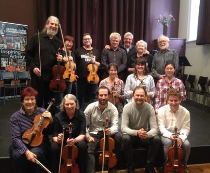 The Australian Viola Festival Gosford, October 2016
