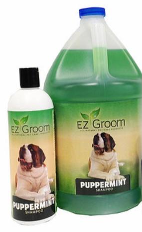 EZ Groom Puppermint Shampoo