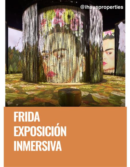 Frida, exposición inmersiva