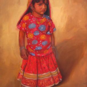 Innocent Girl_Oil on Canvas_30x40_20,000