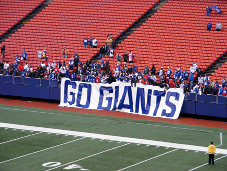 Stay Strong, NY Giants Players and Fans