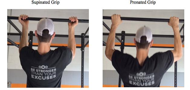 grip pull ups