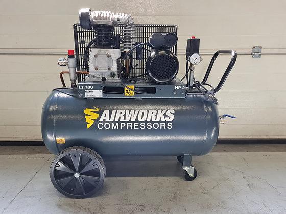 Airworks K11C/100CM2 Zuigercompressor 1.5 kW 260 l/min bouwjaar 2019