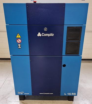 CompAir L15RS Schroefcompressor 15 kW 2.180 l/min ***Nieuw!***