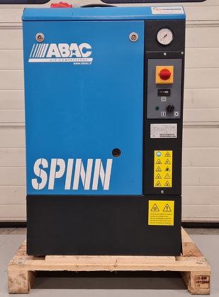 ABAC Spinn 410 Schroefcompressor         4 kW, 470 liter/min bj blok 2021