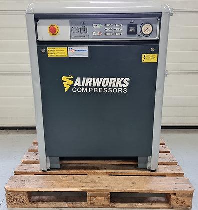 Airworks K50T10SD Silent Zuigercompressor 7,5 kW 1.100 l/min bouwjaar 2017