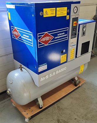 Airpress APS5.5COMBIDRY Schroefcompressor 5.5 kW 455 l/min bouwjaar 2005