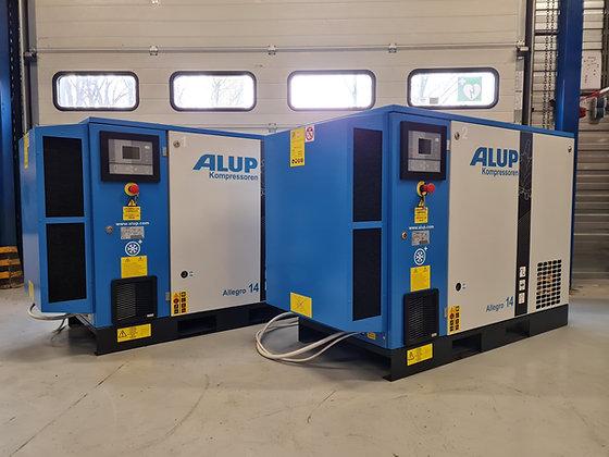 Alup Allegro 14P-2 Schroefcompressor 15kW 2.310 l/min bouwjaar 2017