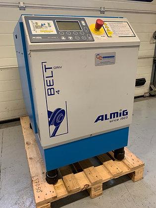 Almig Belt 4-13 Schroefcompressor 4 kW 430 l/min bouwjaar 2008