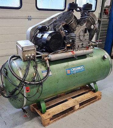 Creemers CST-1250 zuigercompressor 7,5 kW 1.250 l/min bouwjaar 1998