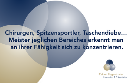 Präsentationstraining, Rainer Siegenthaler, St.Gallen, Zürich