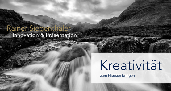 Innovation & Präsentation, Rainer Siegenthaler, St.Gallen, Zürich