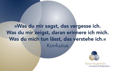 Rainer Siegenthaler, Weiterbildung, Seminar, Coach, St.Gallen, Zürich