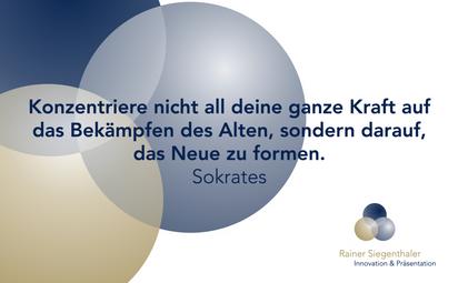 Präsentationstraining, Innovationstraining, Rainer Siegenthaler
