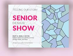 Senior Showcase Postcard