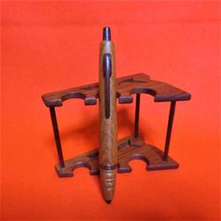 唐木ボールペン・木製クリップ
