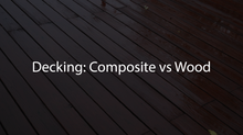 Decking: Composite vs Wood