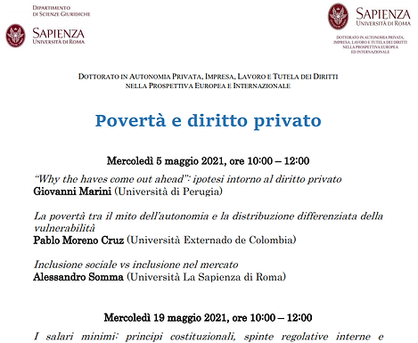 Sapienza. Universidade de Roma. Defesa de teses de doutorado