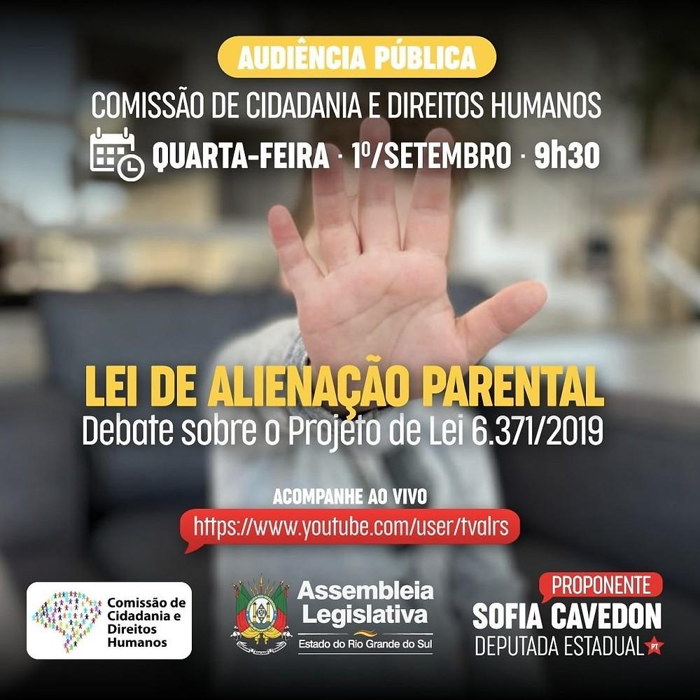 Audiência Pública sobre a revogação da Lei de Alienação parental