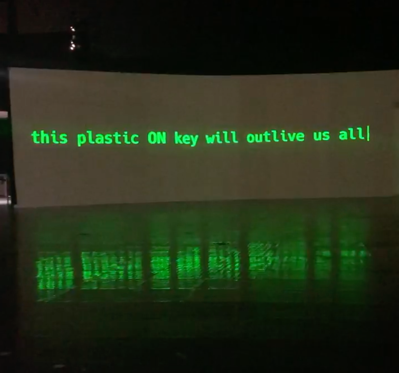 This plastic on key will outlive us all.