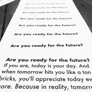 Are you ready for the future