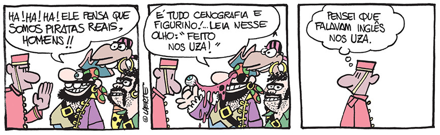 Piratas do Tietê | Laerte
