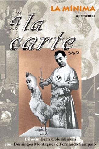 Primeiro cartaz de À La Carte