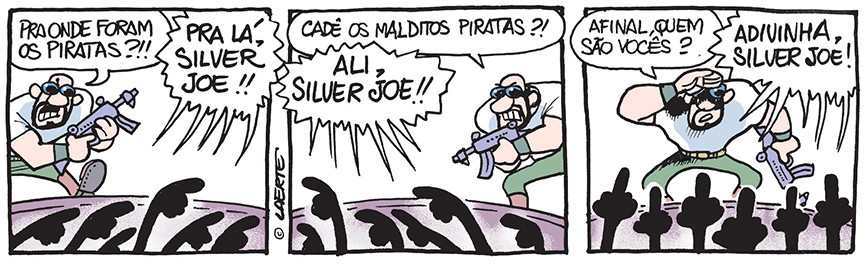 Piratas do Tietê | Laerte