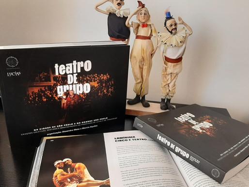 Livro Teatro de Grupo na cidade de São Paulo e na Grande São Paulo